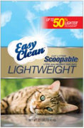 Pestell Easy Clean Lightweight Scoopable Cat Litter 23#
