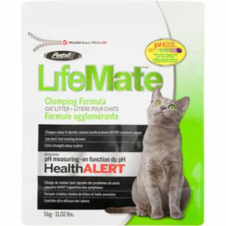 Pestell LifeMate Scoopable Cat Litter with pH Health Alert 11lb Bag