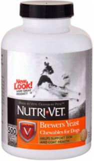 Nutri-Vet Brewers Yeast With Garlic Chewables 500 ct.