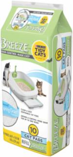 Tidycat Breeze Scented Pad 6/10ct