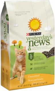 Yesterday's News Original Cat Litter 6/5#