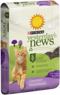 Yesterday's News Softer Texture Cat Litter 13.2 lb.