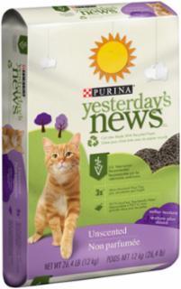 Yesterday's News Softer Texture Cat Litter 26.4 lb.
