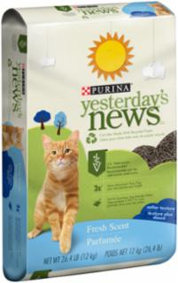 Yesterday's News Softer Texture Fresh Scent Cat Litter 26.4 lb.