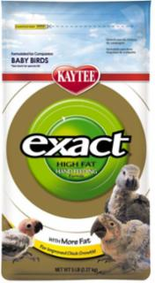 Kaytee Exact Handfeed Baby Bird High Fat 5lb