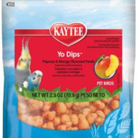 Kaytee Fiesta Yogurt Dips Avian Mango/Papaya 2.5Z