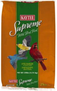 Kaytee Supreme Wild Bird Food With Sunflower 25#