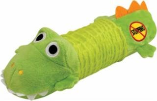 Petstages Big Squeak Gator Stuffing Free Dog Toy