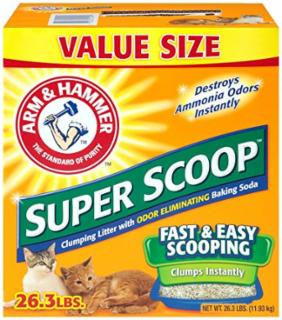 Arm & Hammer Superscoop Clumping Scented Litter 26.3 lb.