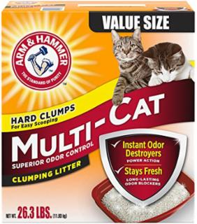 Arm & Hammer Multicat Strength Clumping Litter 26.3 lb.