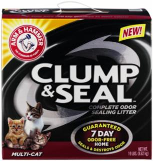 Arm & Hammer Clump & Seal Multi-Cat 2/19#