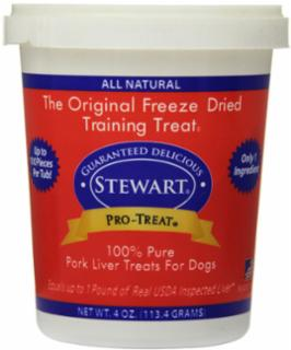Gimborn Pro-Treat Pork Liver Freeze Dried Treat 4Oz