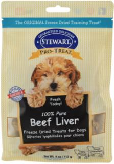 Gimborn Pro-Treat 100% Beef Liver Freeze Dried Treats for Dogs 4Z