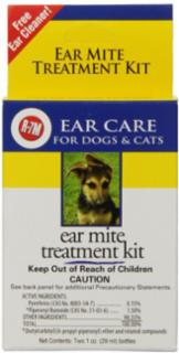Gimborn R-7 Ear Mite Kit 1 oz.