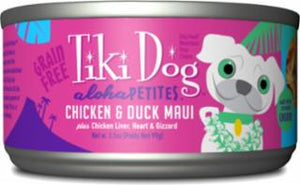 Tiki Dog Aloha Petites Maui Chicken/Duck 24/3.5z