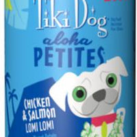 Tiki Dog Aloha Petites Lomi Lomi Chicken/Salmon 12/9z Can