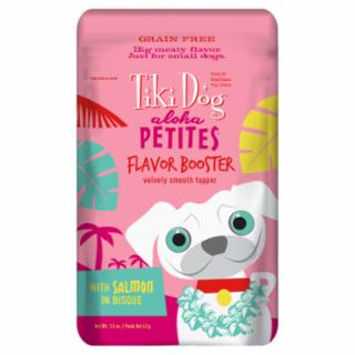 Tiki Dog Aloha Petites Flavor Booster with Salmon in Bisque Pouch 12/1.5Z