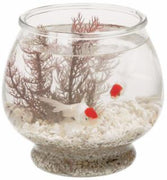 Anchor Hocking 1 Gallon Footed Glass Bowl 4Pk