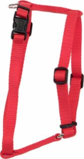 "Coastal Style 6343 Adjustable Harness 3/8"" x 10-14"" Red"
