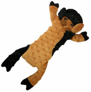 Ethical Skinneeez Extreme Stuffer Brown Cow Dog Toy 14""