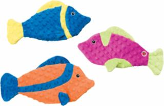 Ethical Skinneeez Extreme Fish Assorted Dog Toy 13""