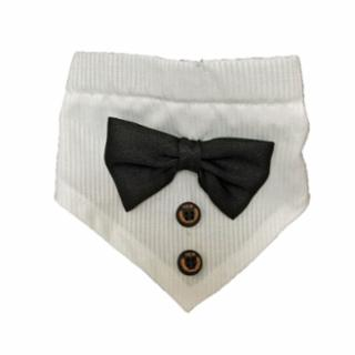Fashion Pet - TUXEDO COLLAR WHITE ONE SIZE