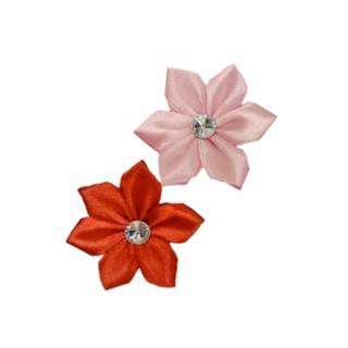 Fashion Pet - FLOWERS 2PCS PINK& RED XSM/SML