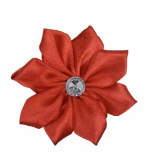 Fashion Pet - FLOWER RED MED/LGE