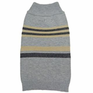 Fashion Pet - SHIMMER STRIPES GREY SM