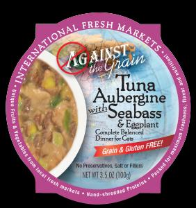 Evanger's Against The Grain Tuna Aubergine 12/3.5 oz.