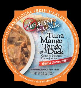 Evanger's Against The Grain Tuna Mango Tango 12/3.5 oz.