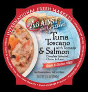 Evanger's Against the Grain Tuna Toscano 12/3.5 oz.
