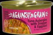 Evangers Against the Grain Tuna Aubergine with Snapper & Eggplant Dinner for Cats 24/2.8Z