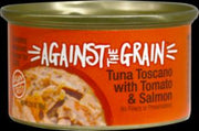 Evangers Against the Grain Tuna Toscano with Salmon & Tomato Dinner for Cats  24/2.8Z