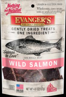 Evangers Freeze Dried Salmon Dog/Cat Treat 4.6z