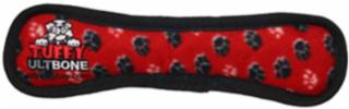 VIP Products Tuffy's Ultimate Bone Red Paws