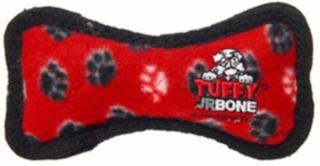 VIP Products Tuffy Jr. Bone Red Paws