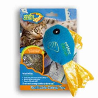 Cosmic Refillable Catnip Fish - Wet Willy