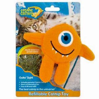 Cosmic Refillable Catnip Cyclops - Outta Sight
