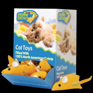 Our Pets Eek! Mouse Cat Toy Bulk Bin 36PC *REPL 808103