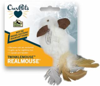 Our Pets Twinkle Mouse Cat Toy