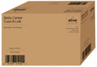 Elive Consumable Fixture Cup - Elive Betta (100 Count Box)