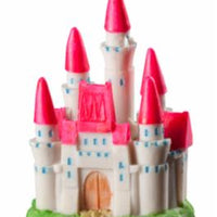 Elive Glow Elements Neon Pink Princess Castle - 2.75 in. x 2 in. x 4 in.