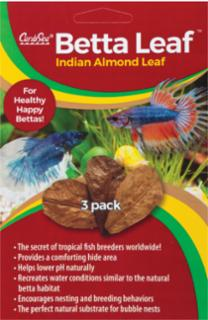 CaribSea Betta Leaf Indian Almond Leaf 3 pk