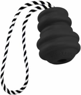 Multipet Black Gorrrrilla Dog Toy w/Rope 2.5""