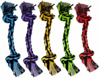 Multipet Nuts for Knots 2 Knot Rope Toy 9""