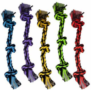 Multipet Nuts for Knots 3 Knot Rope Toy 15""