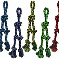 Multipet Nuts for Knots Rope Tug 2 Dangler 15""
