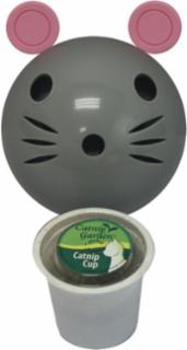 Multipet Catnip Garden Kitty Sprinkles MouseDispenser + K-Cup