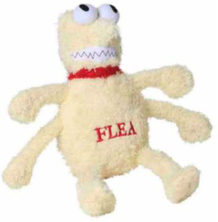 Multipet Plush Flea Dog Toy Large 12